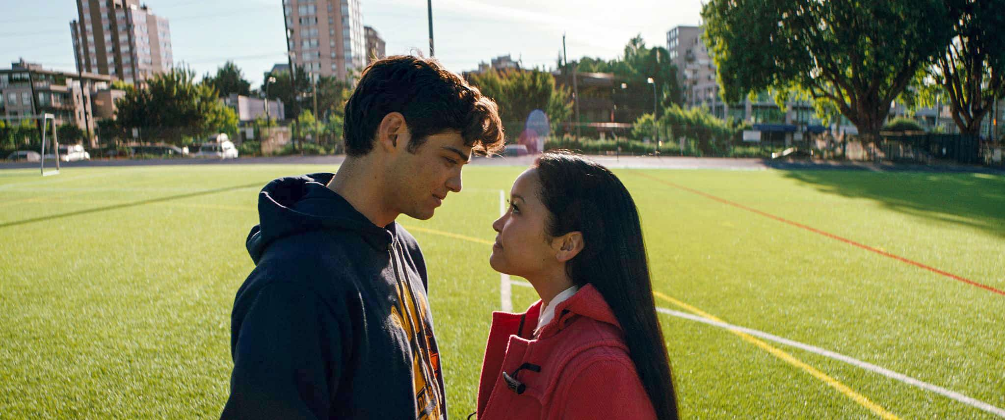 Peter and Lara Jean
