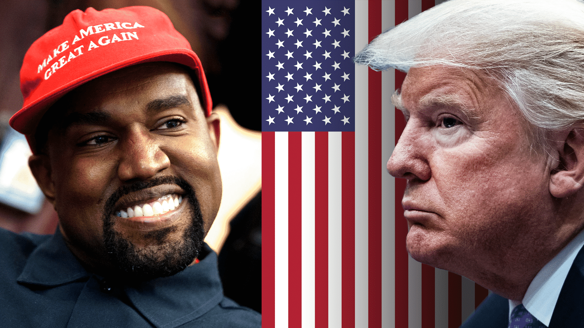 Kanye West prezidentom USA donald trump