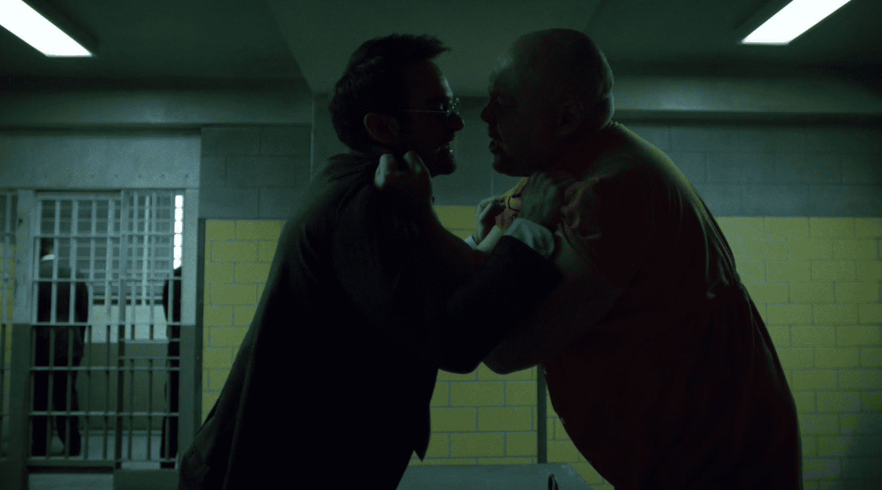 Wilson Fisk a Matt Murdock v druhej sérii Daredevila