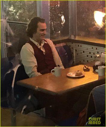fotky z natáčania filmu Joker