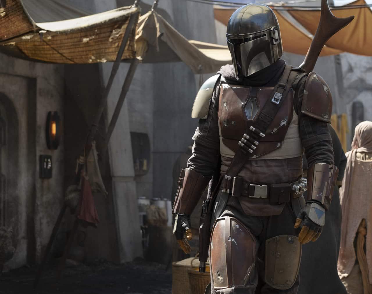 Prvá fotka z prvého hraného Star Wars seriálu, The Mandalorian