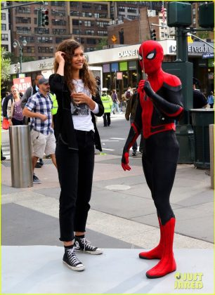 Tom Holland a Zendaya v New Yorku