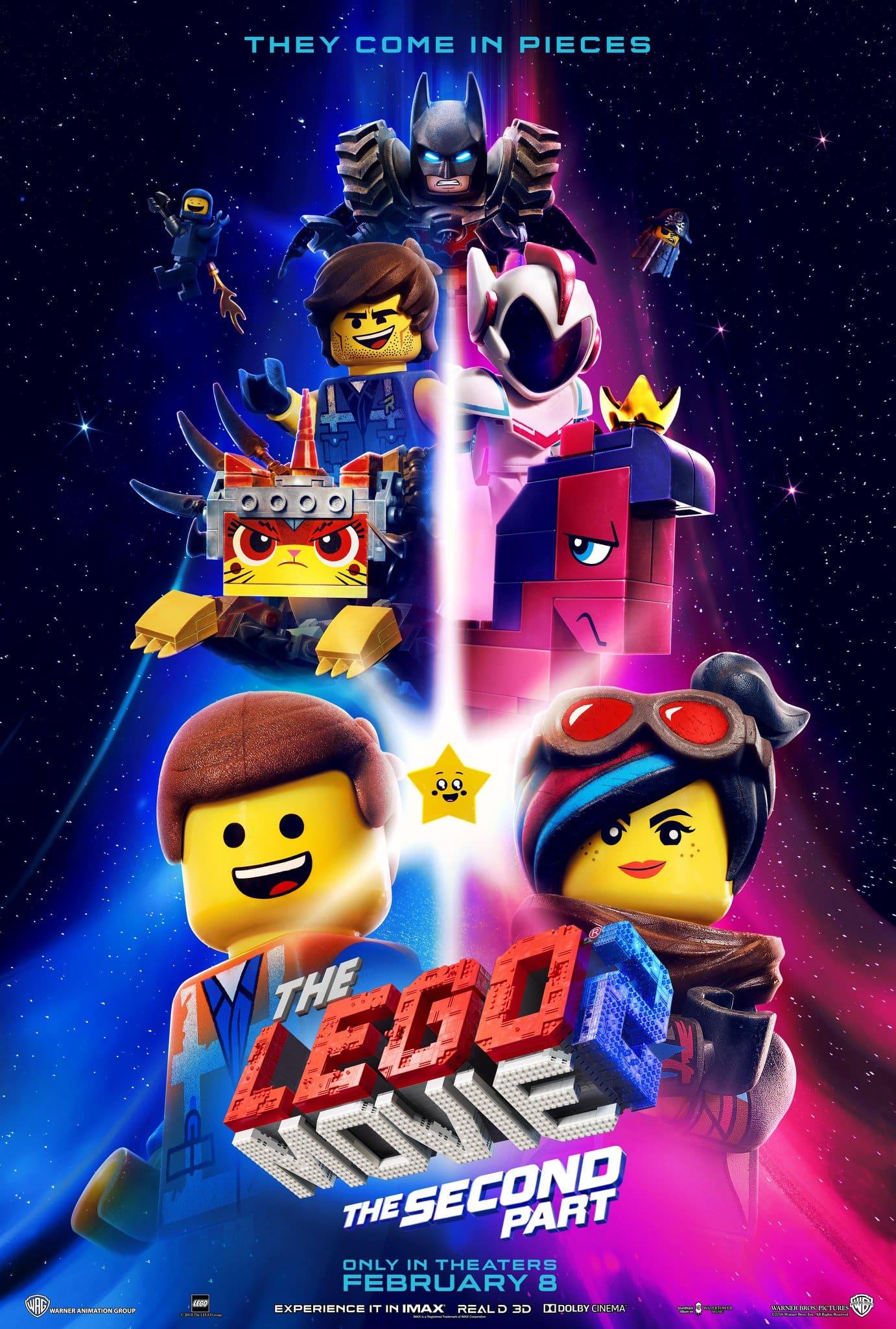 Oficiálny plagát k filmu Lego príbeh 2