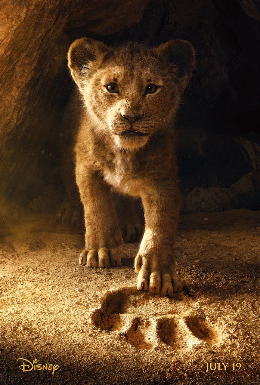Oficiálny plagát k filmu Leví kráľ