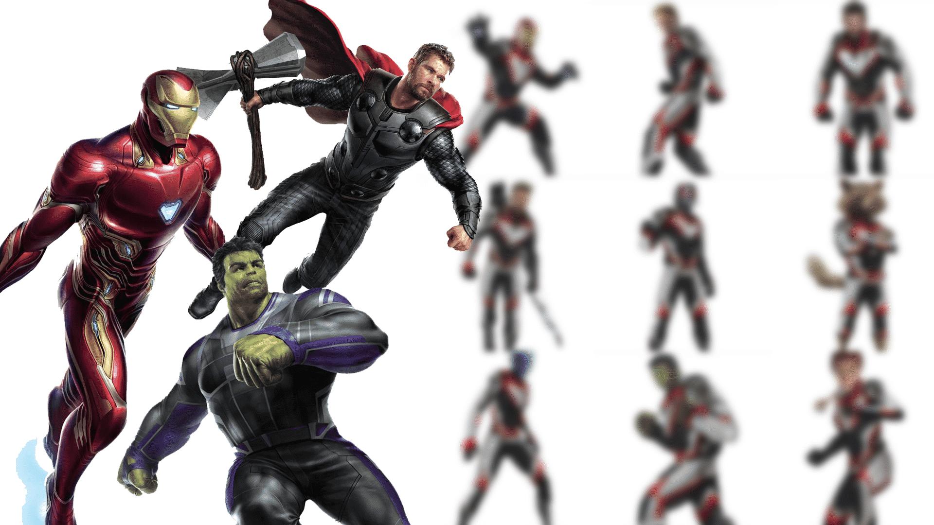 kostýmy v avengers 4