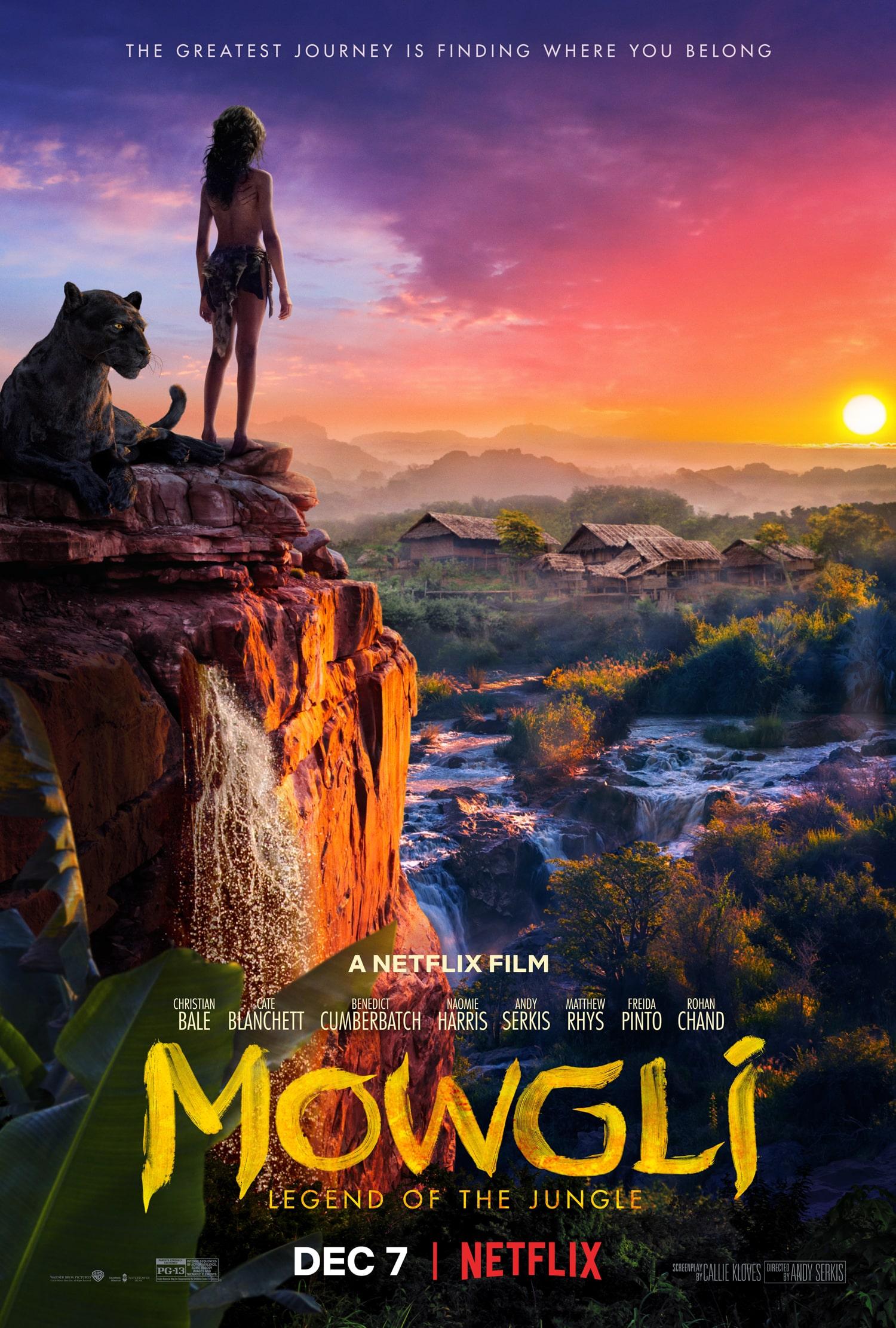 Oficiálny plagát k filmu Mowgli: Legend of the Jungle