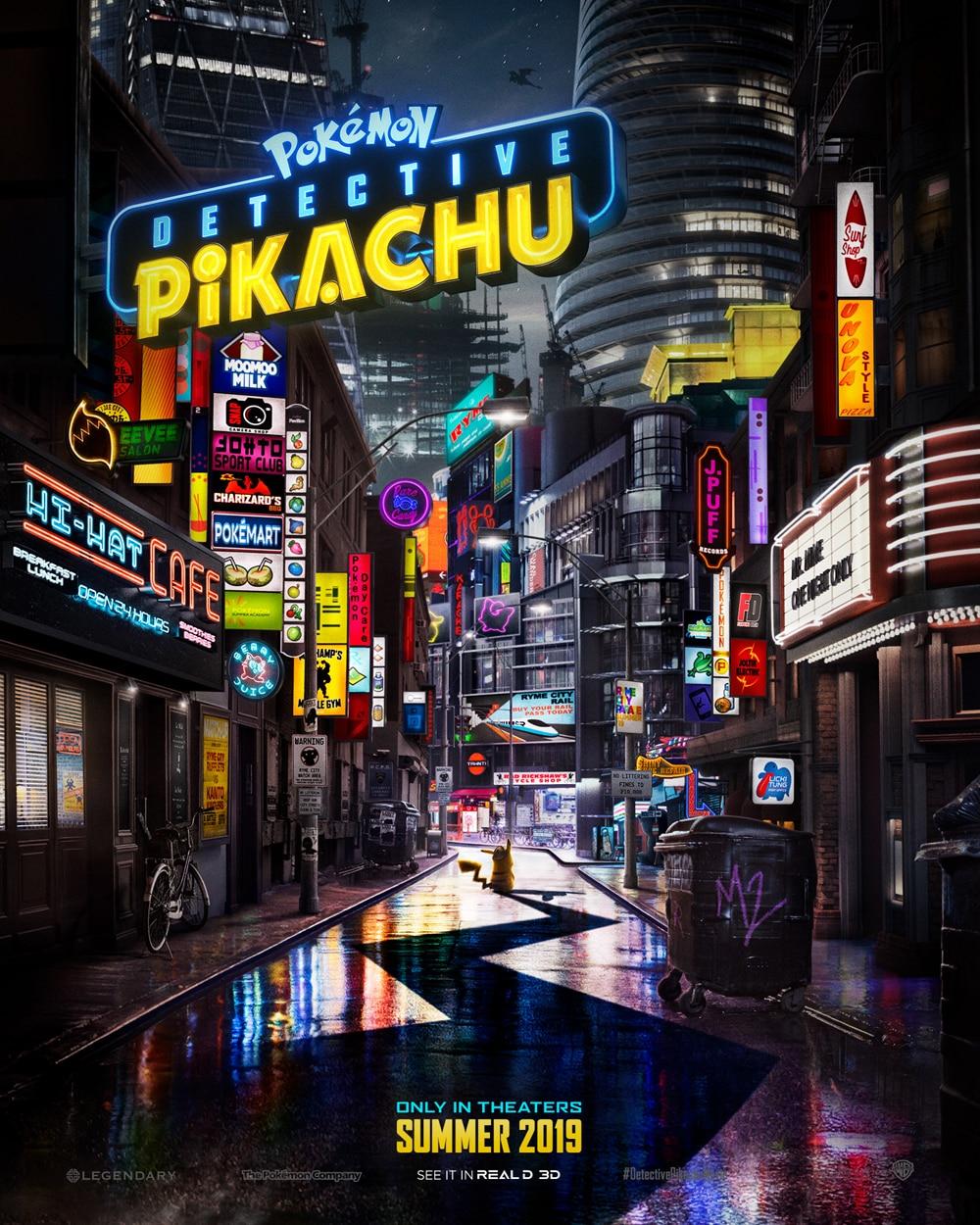 Oficiálny teaser plagát k filmu Detective Pikachu