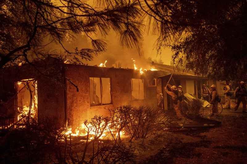 kalifornský požiar