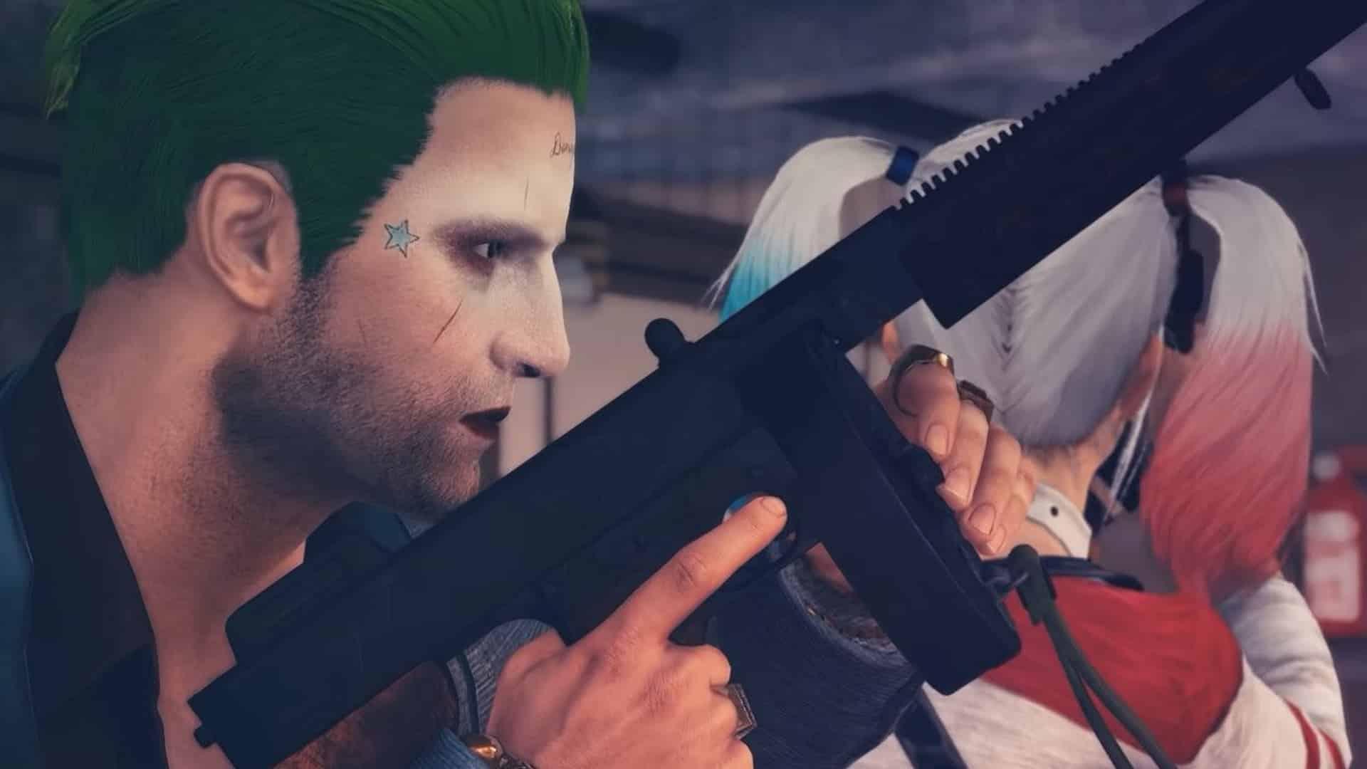 Joker a Harley Quinn v PUBG