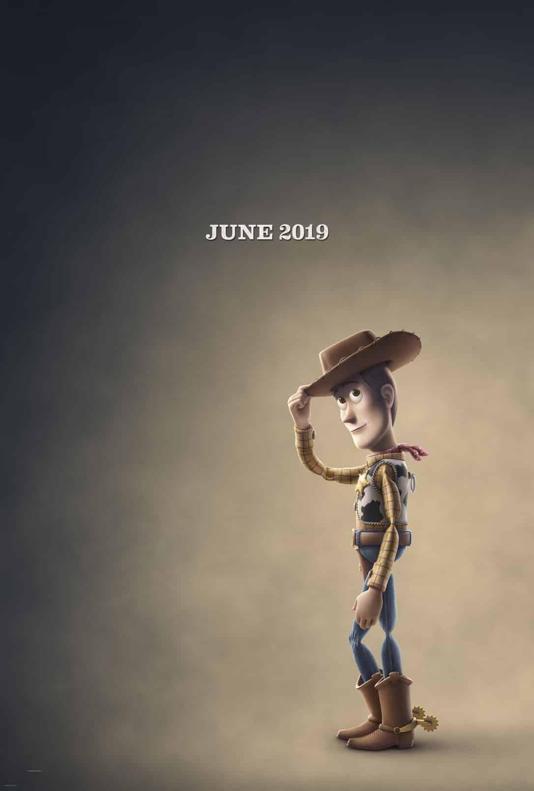 Oficiálny teaser plagát k filmu Toy Story 4