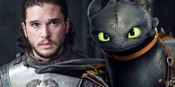 Jon Snow a Bezzubý