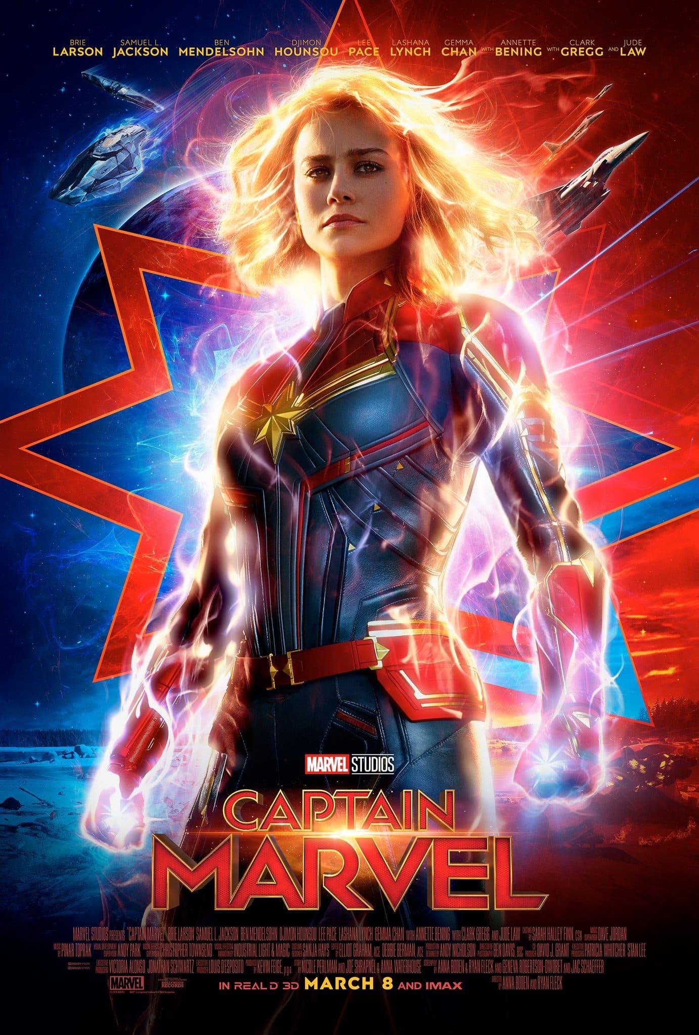 Oficiálny plagát k 21. marvelovke - Captain Marvel