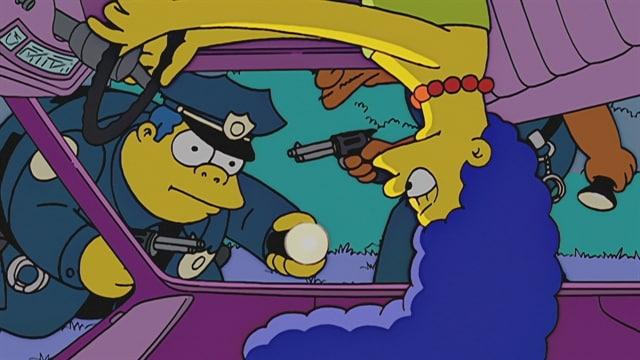 Homer a šoférovanie