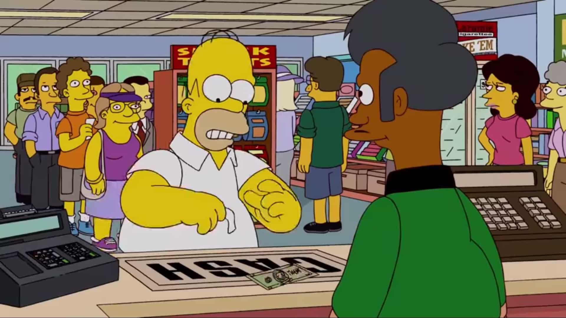 Homer a lotéria