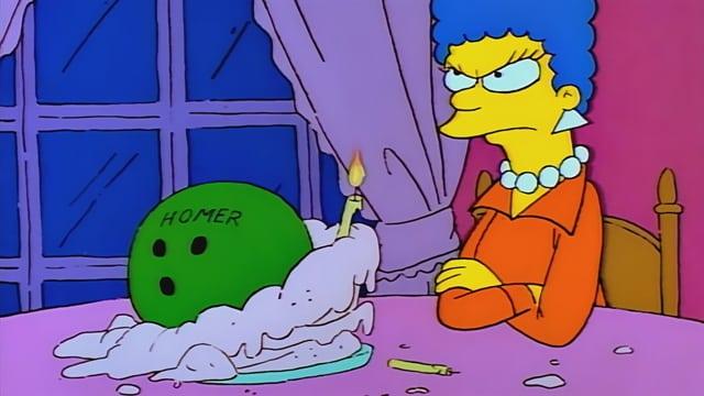 Homer a narodeniny