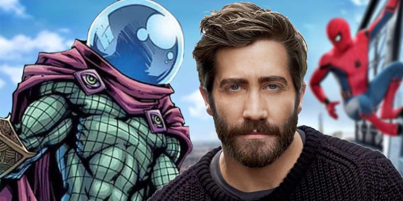 Jake Gyllenhaal Mysterio spider-man: daleko od domova