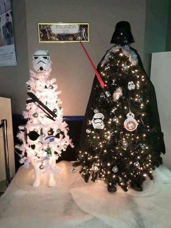 Darth Vader a Stormtrooper