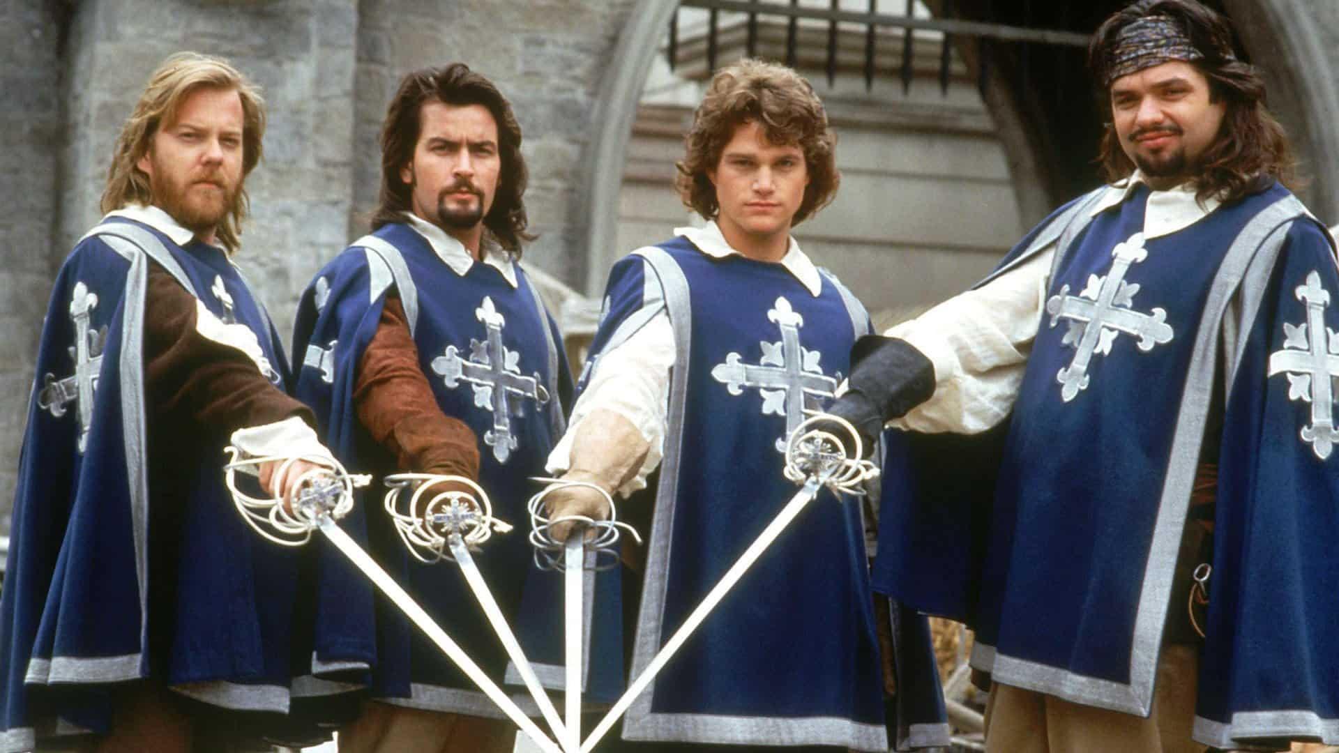 Traja mušketieri