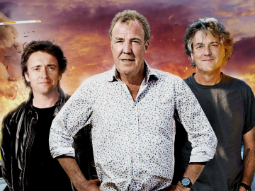 clarkson, hammond a may top gear the great tour