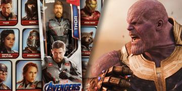 hračky z avengers: endgame