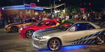 autá z Fast & Furious