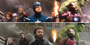 marvel 10 years challenge