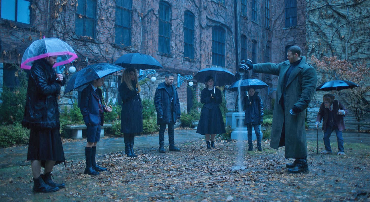 the umbrella academy trailer netflix
