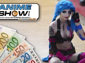 cosplay súťaž na animeshow 2019