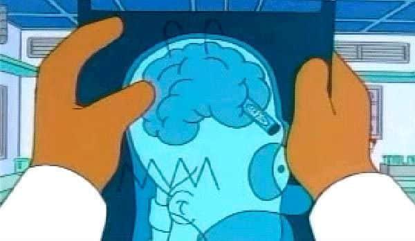 Homer a pastelka