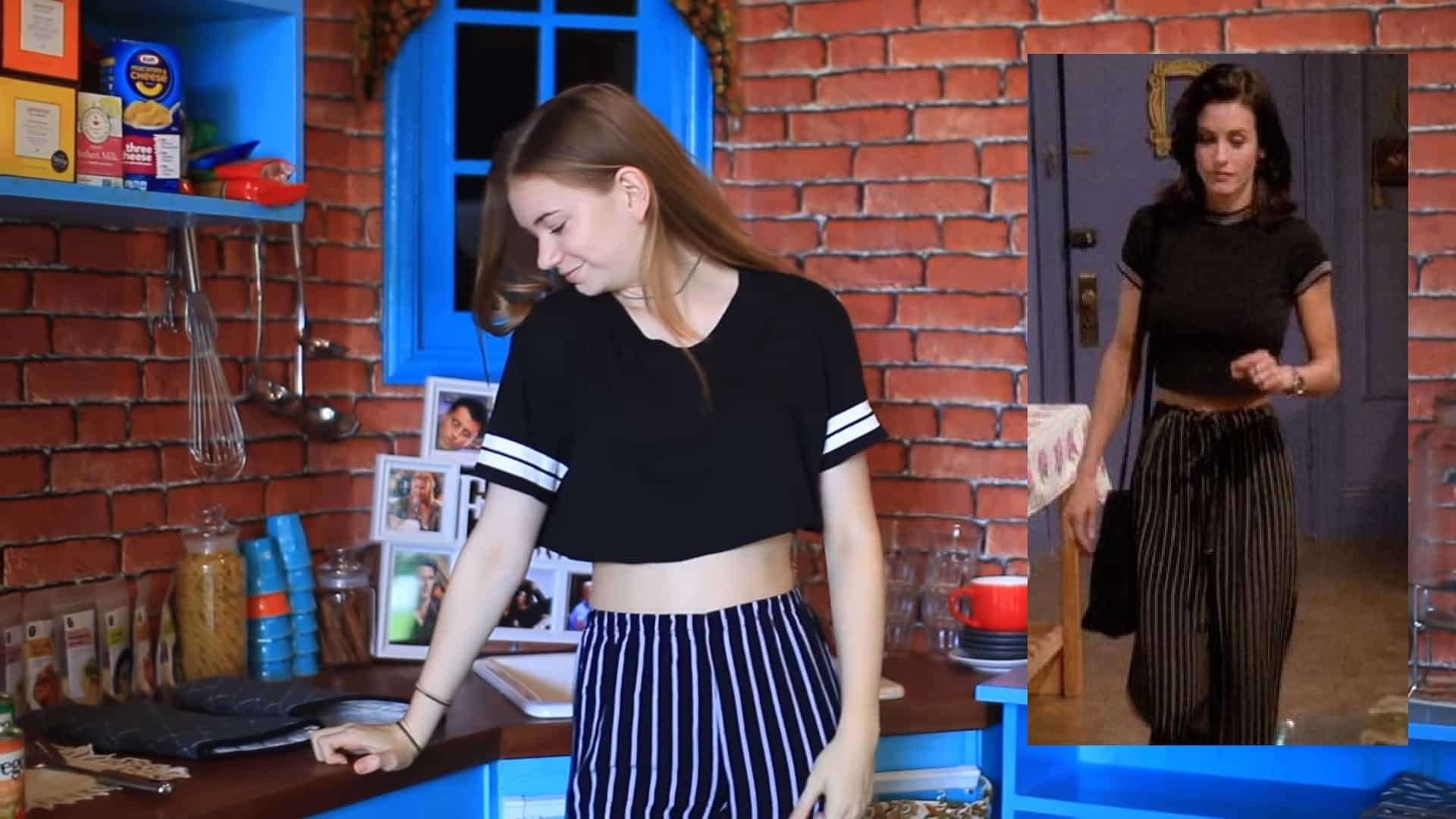 Monika - striped pants