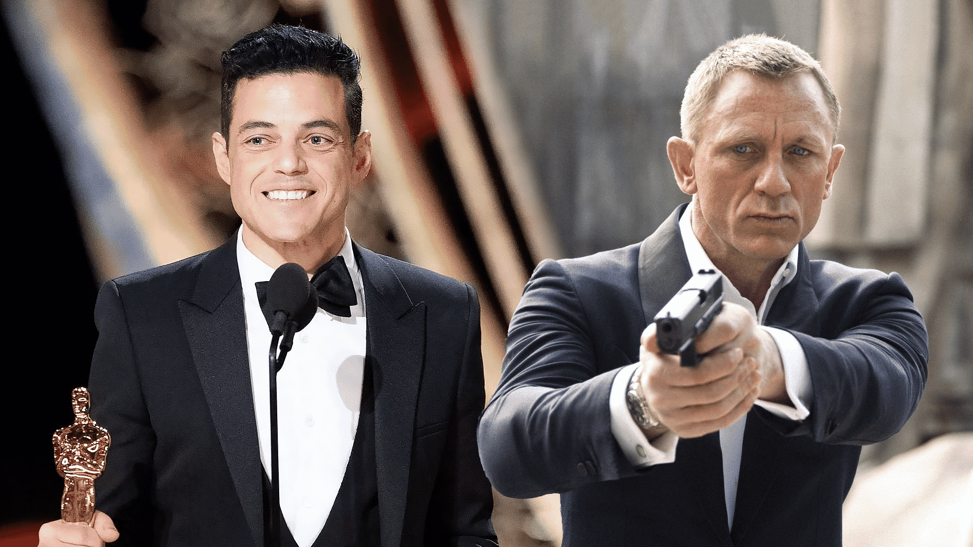 séria james bond rami malek