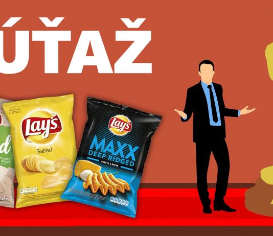 SÚŤAŽ o tri kartóny chipsov Lay's