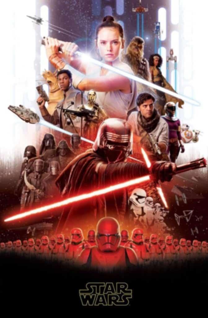 Uniknutý plagát na Star Wars: Epizódu IX