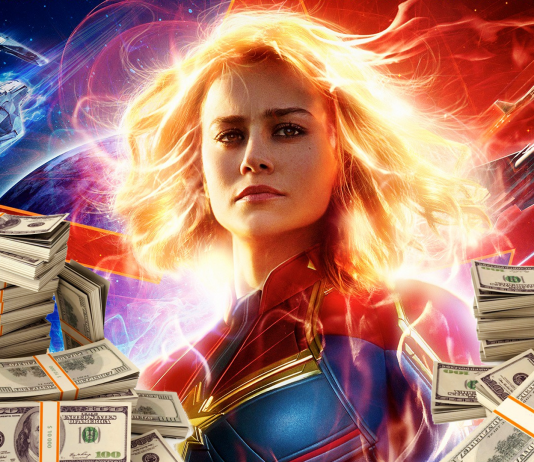 captain marvel tržby v kinách