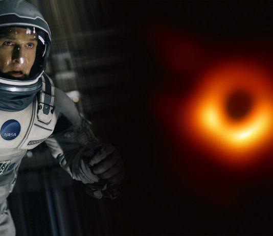prvá fotka čiernej diery