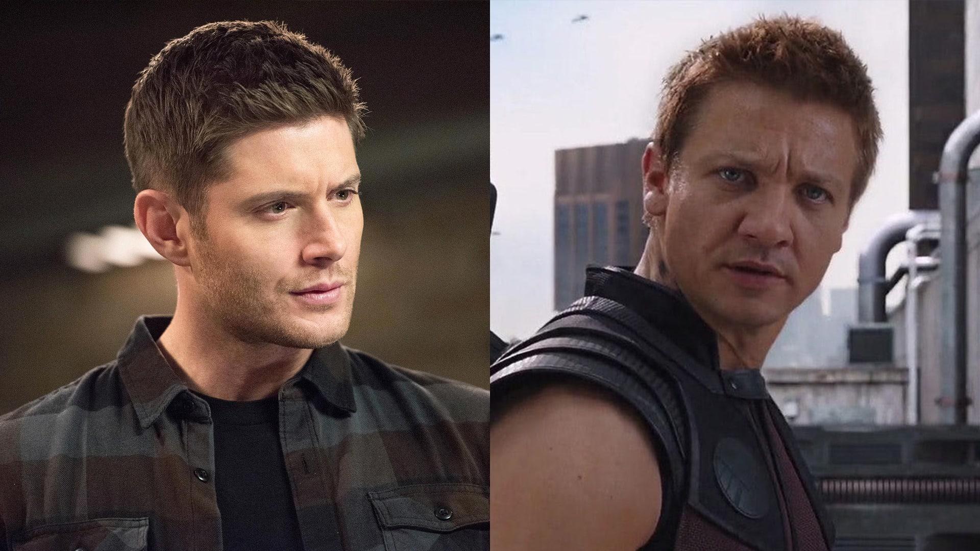 Jensen Ackles ako Hawkeye