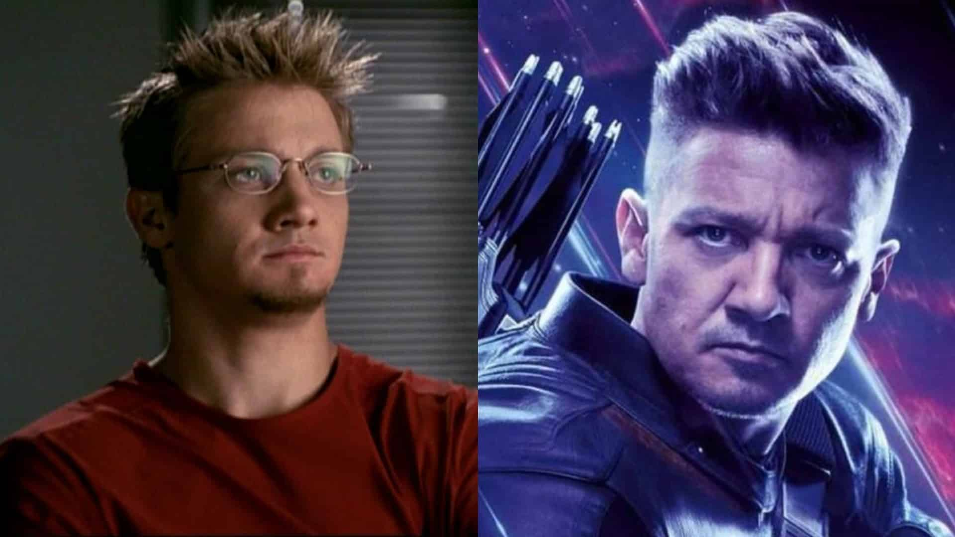 Jeremy Renner ako Hawkeye