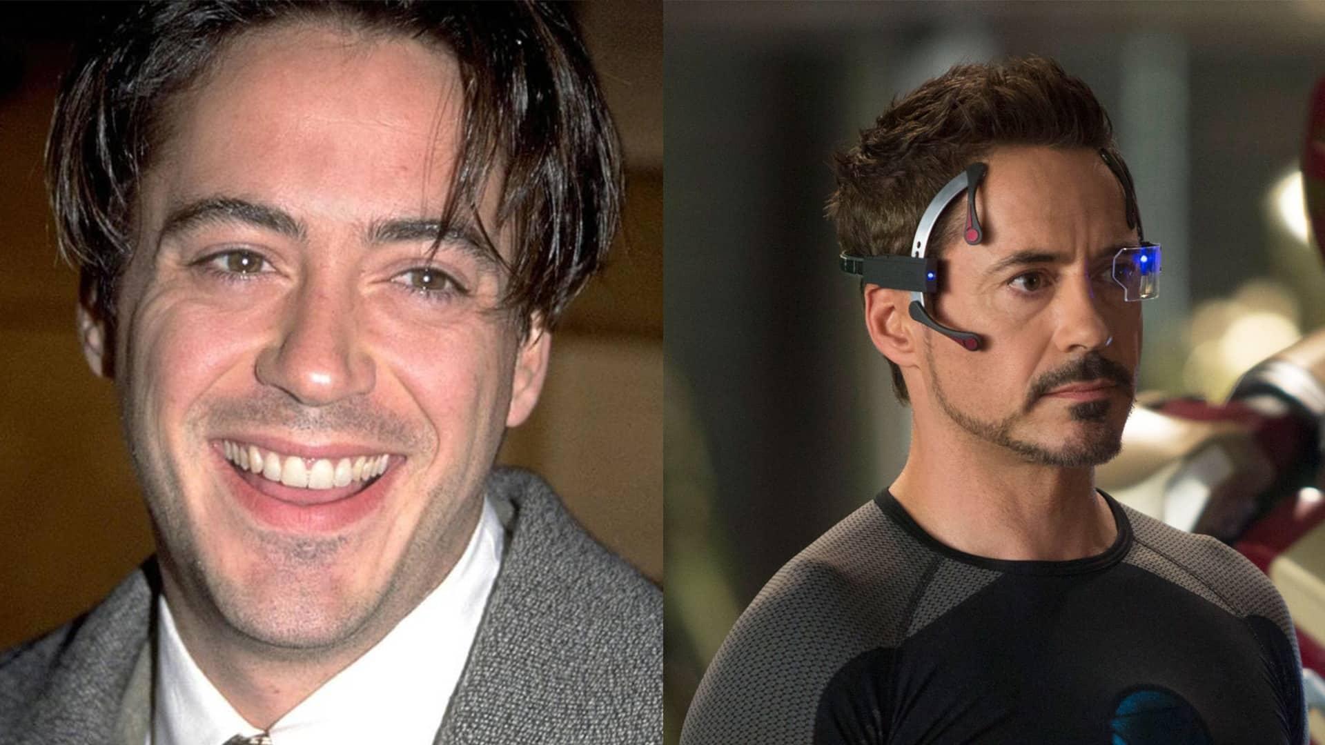 Robert Downey Jr. ako Iron Man