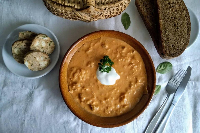 recept na segedínsky guláš