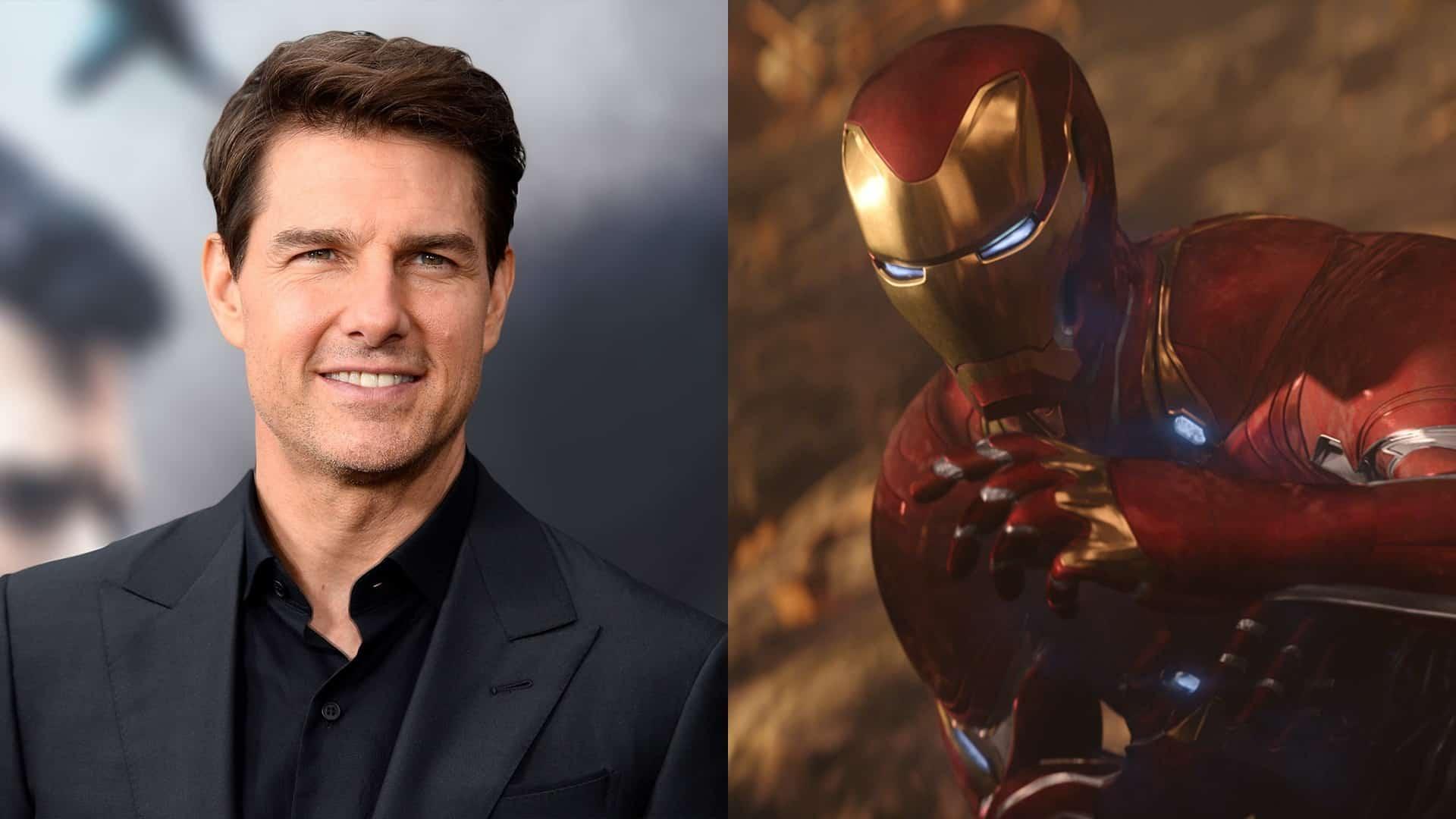 Tom Cruise ako Iron Man