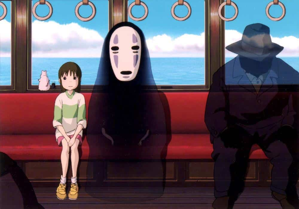 No-Face a Chihiro