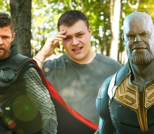 video uniknute sceny z avengers: endgame