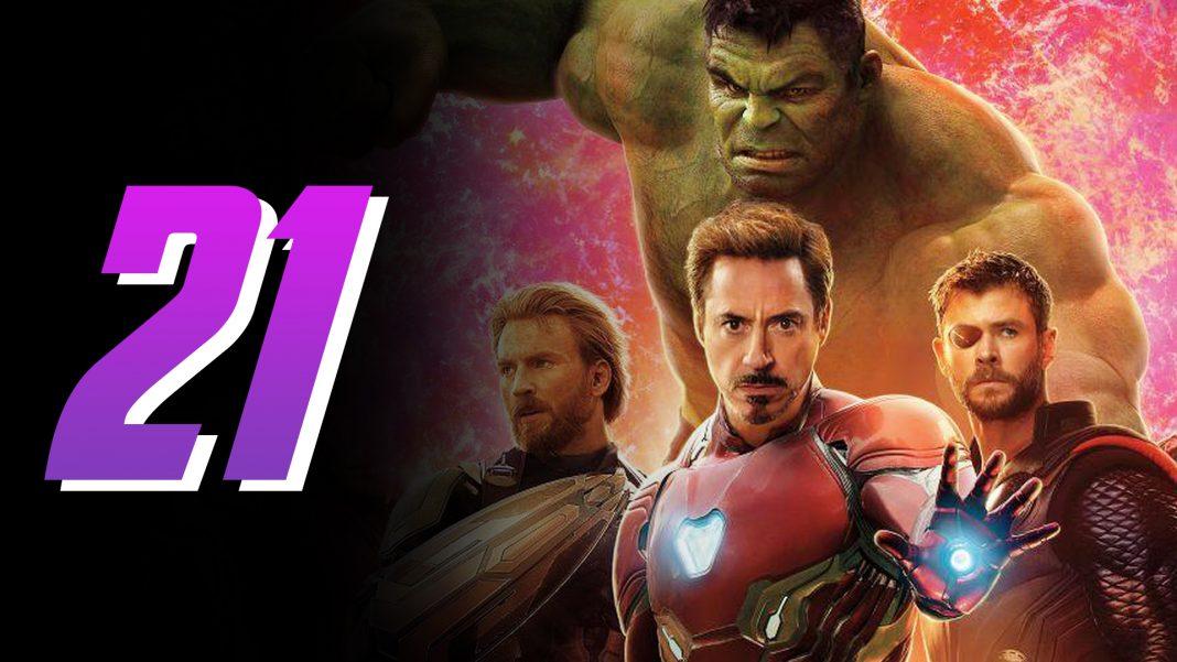 ktoré marvel filmy patria do série Avengers
