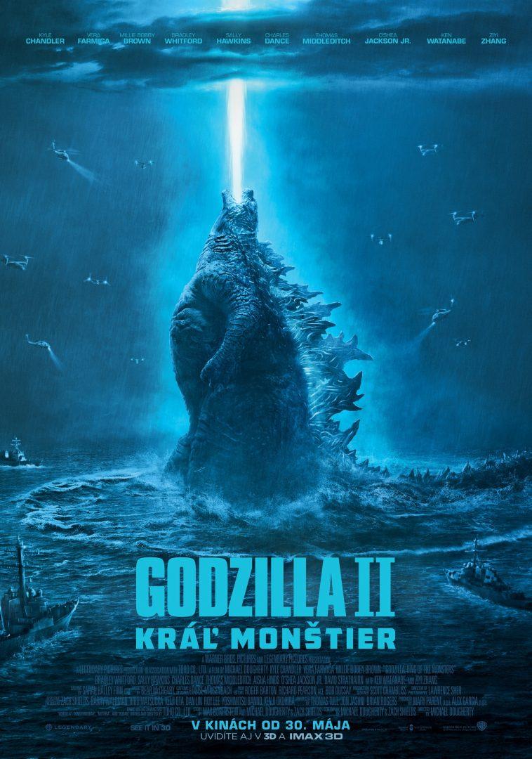 Godzilla II: Kráľ monštier plagat