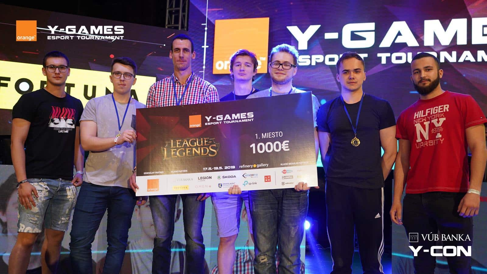 Orange Y-Games 2019 a VÚB Y-Con 2019
