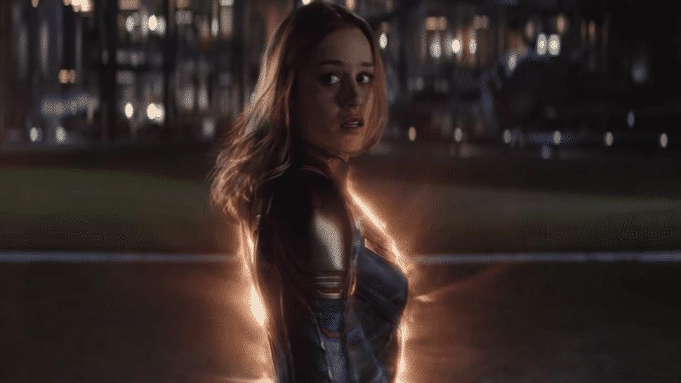 Captain Marvel a valkyrie