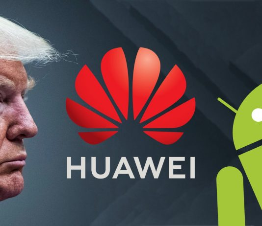 huawei google donald trump