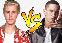 Eminem nerozumie rapu tejto generácie justin bieber