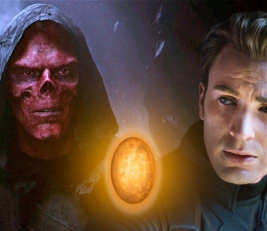 avengers: endgame Captain America a Red Skull soul stone