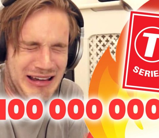 t-series pewdiepie youtube